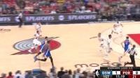 04月25日NBA季后赛 开拓者vs勇士 精彩镜头