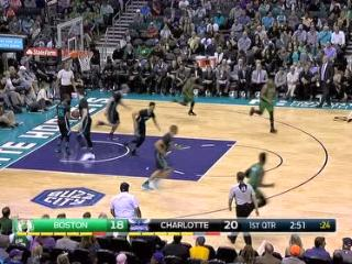 04月09日NBA常规赛 黄蜂vs凯尔特人 镜头