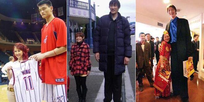 2米42中国第一巨人因太大只让妻子倍感苦恼,情况与姚明类似!