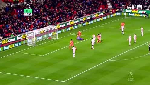 英超-萨拉赫两球马内传射 利物浦3-0斯托克城