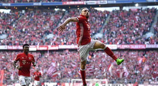 追平传奇!里贝里代表拜仁打入110进球