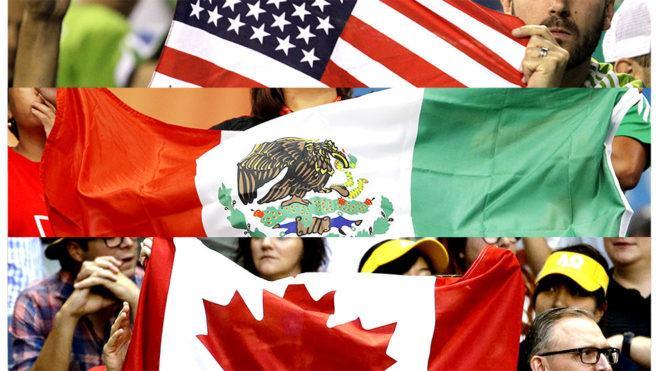 美国墨西哥加拿大将联合申办2026世界杯