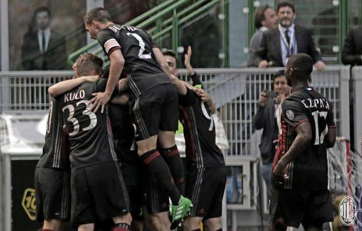 半场-苏索传射巴卡破门 AC米兰3-0领先巴勒莫