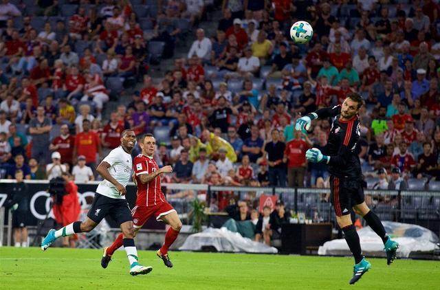 奥迪杯拜仁0-3负利物浦   双翼破门斯图里奇锁定胜局