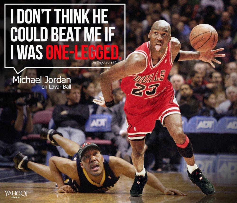老鲍尔:我都没打过职业篮球 你们就拿我跟MJ对比?