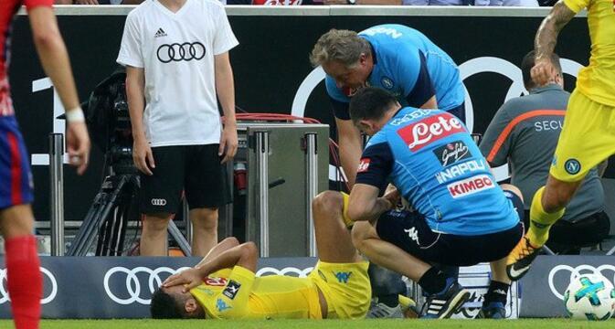 那不勒斯官方:欧纳斯右脚踝一级扭伤