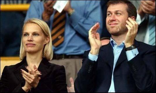 切尔西老板三度离婚 前妻分10亿如今或搭100亿