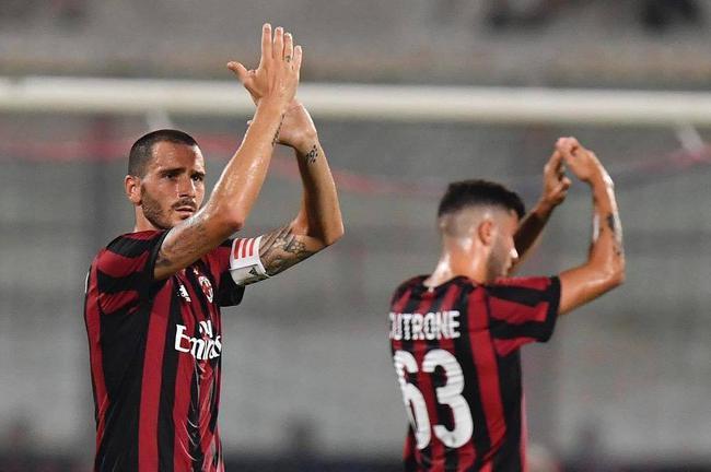 热身赛AC米兰1-2不敌皇家贝蒂斯  博努奇首秀萨纳布利亚点杀
