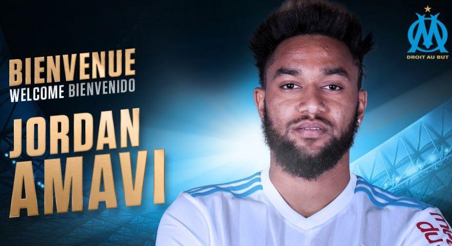 官方:马赛签约左后卫乔丹-阿玛维