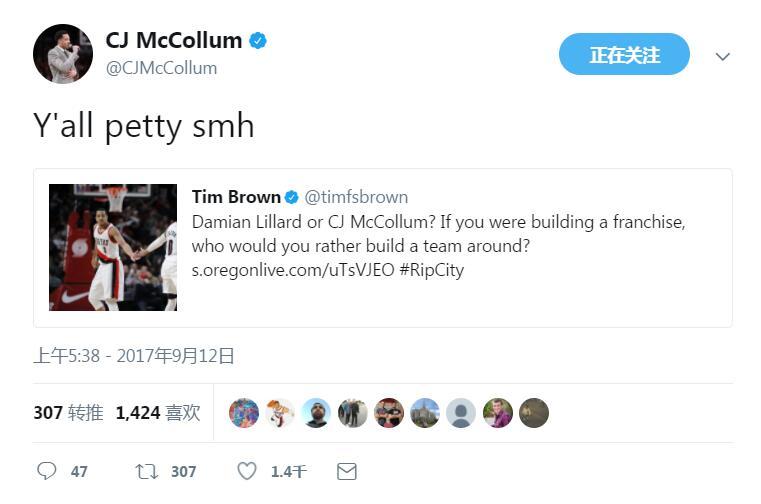 CJ-麦科勒姆抨击记者挑事文章:你们真卑鄙