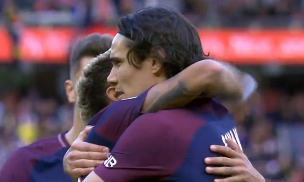 半场-内马尔两射一传卡瓦尼破门 巴黎5-1领先波尔多