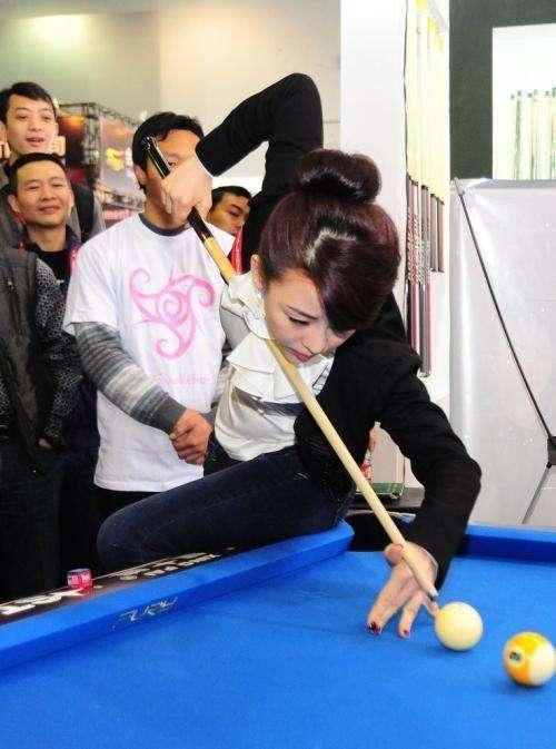 中国九球天后年满35岁依旧单身一人, 连王思聪也不敢招惹