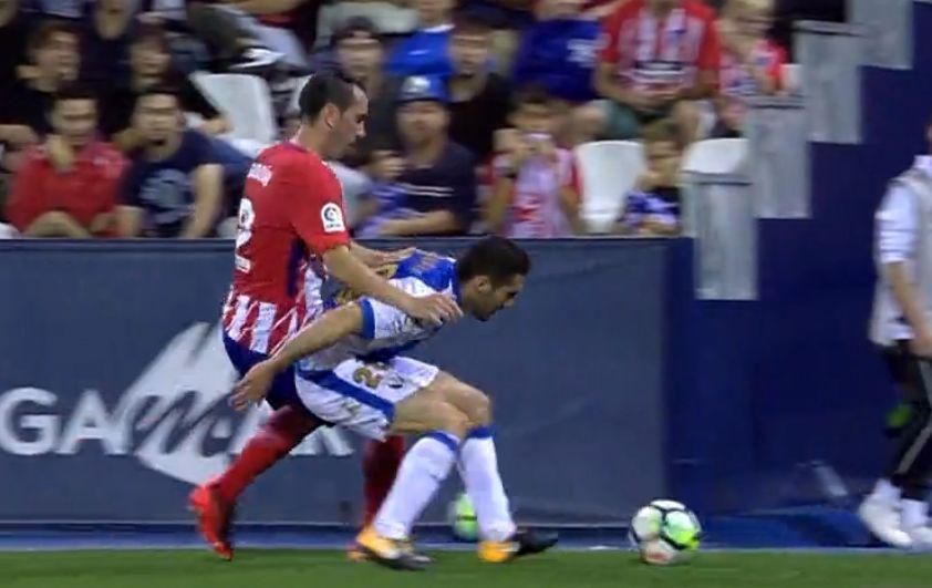 西甲-戈丁险破门门将救险 马竞0-0闷平莱加内斯