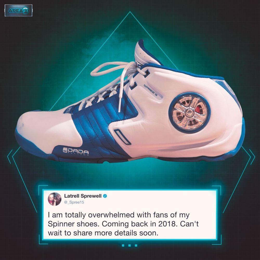 斯普雷维尔宣布达达风火轮球鞋会在2018年重新面市