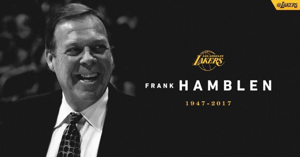 沃顿谈汉布伦逝世:NBA失去了一位非凡之人