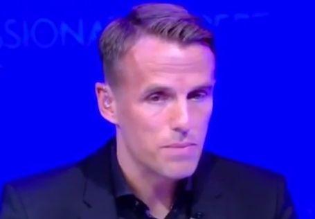 小内维尔谈红蓝大战:平局对于曼联不足够