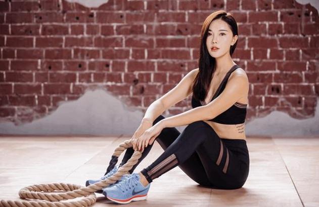 最美健身女神退出娱乐圈推广健身运动  颜值比肩林志玲