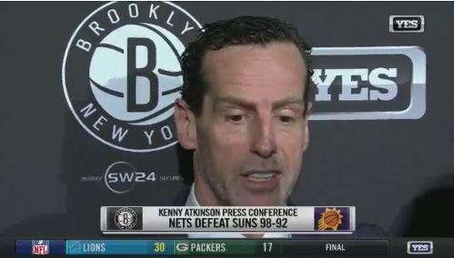 阿特金森:这是一场漂亮的比赛 我们找到防守的方式