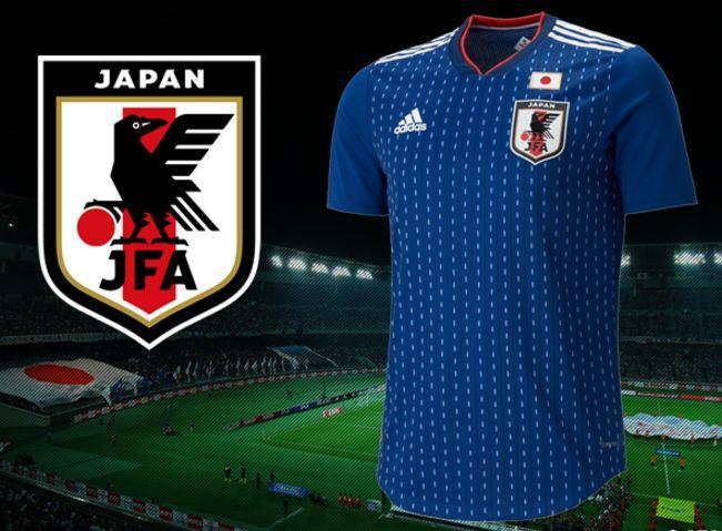 官方:日本公布2018世界杯战衣