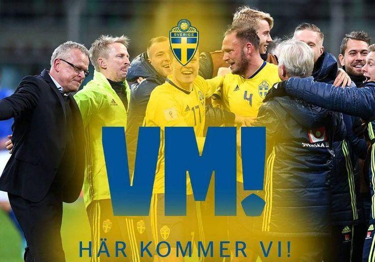 瑞典连克荷兰和意大利 时隔12年重返世界杯