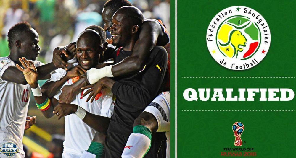 英媒:小组对手已经上诉,塞内加尔出线或受影响