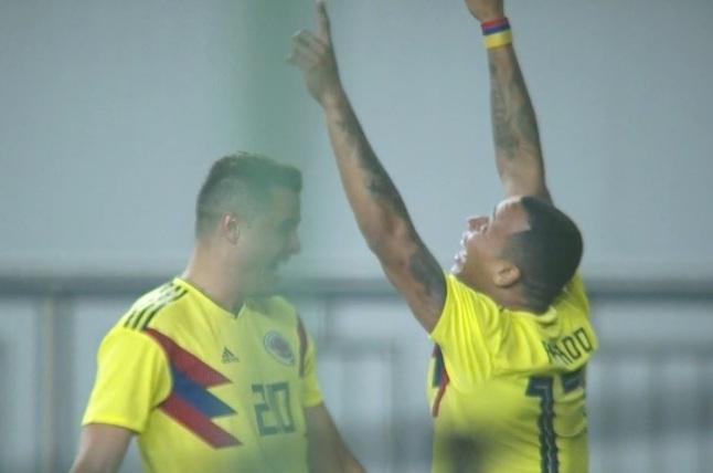 热身赛-张琳芃屡救险武磊失良机 国足0-4不敌哥伦比亚