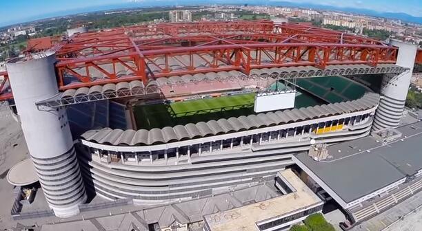 意媒:米兰再度考虑新建球场