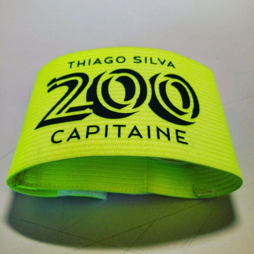 里程碑!蒂亚戈-席尔瓦第200次出任巴黎队长