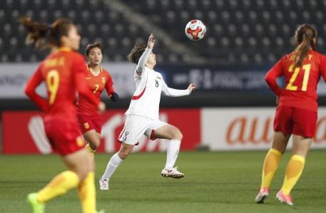 女足肯定又要被骂了!负众望输球朝鲜