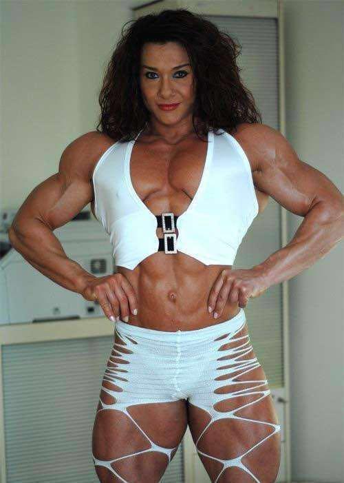 十二星座健身女神什么样 各位请对号入座:射手座的女神不要太可怕