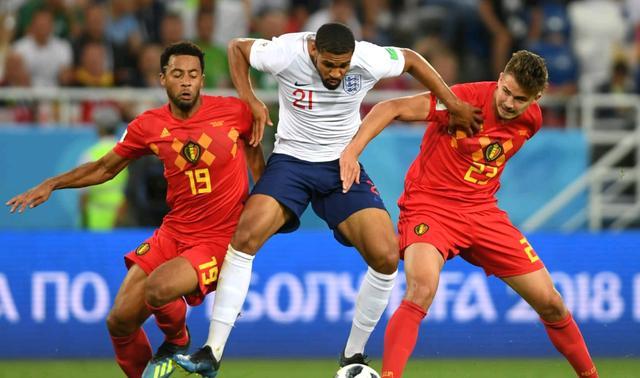比利时VS英格兰:英超内战上演 凯恩穿金靴红魔创历史?