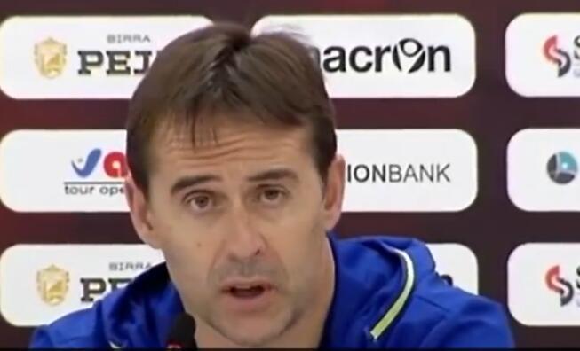 洛佩特吉:会对所有西班牙球员一视同仁
