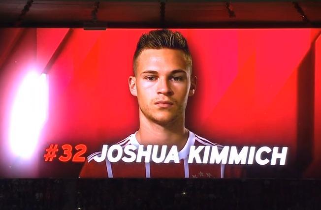 拜仁官方:基米希当选队内10月最佳球员