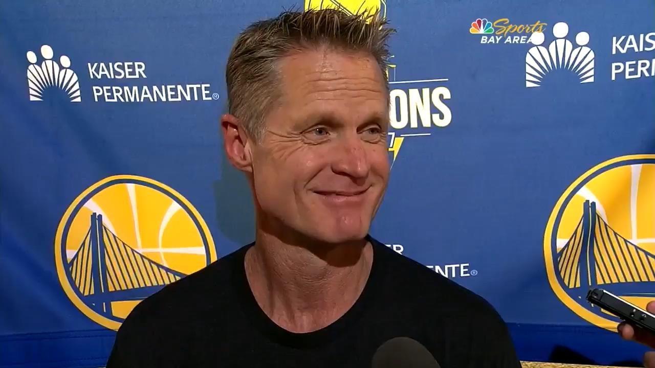 科尔:这是一场季后赛级别的胜利 不容易