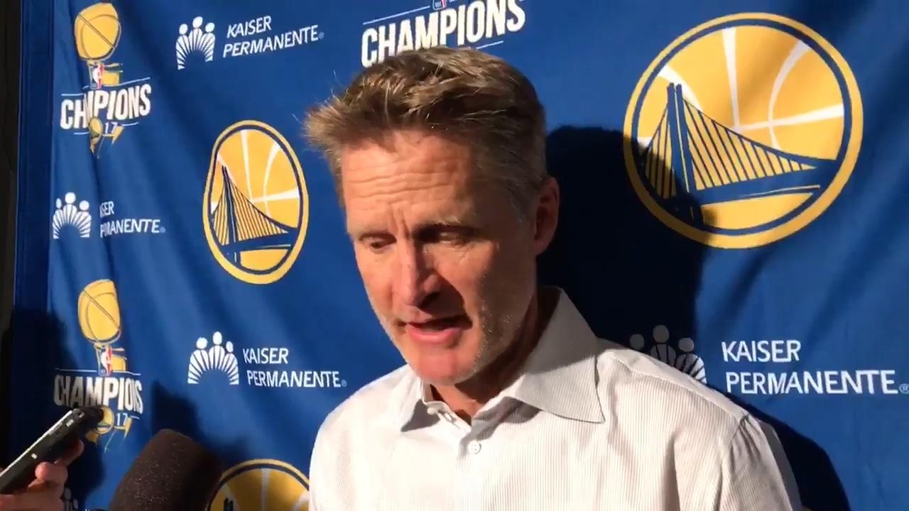 科尔:我们还没达到巅峰水平 还能变得更好
